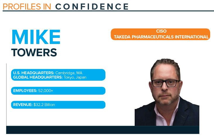 Mike Towers Takeda Profile