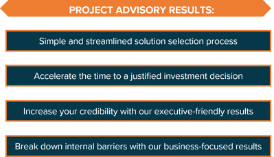 Project Advisory Results Graphic